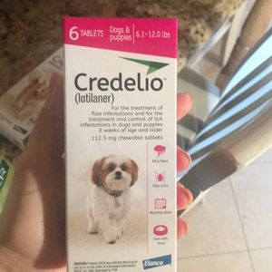 Credelio puppy small dog 6.2-12 lb